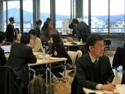 京大院生が府と市の職員と意見交換会 「図書館」「就労支援」など4つのテーマで