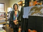 四条烏丸近くの着物店半年 トリリンガルの女性が呉服店勤務を経て独立
