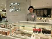 京都大丸に「ゴディバ」コンセプト店 バレンタイン限定品も