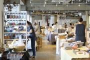 京都で「布博」 テキスタイルやフェルト、ニット、ボタンなど74組が出店