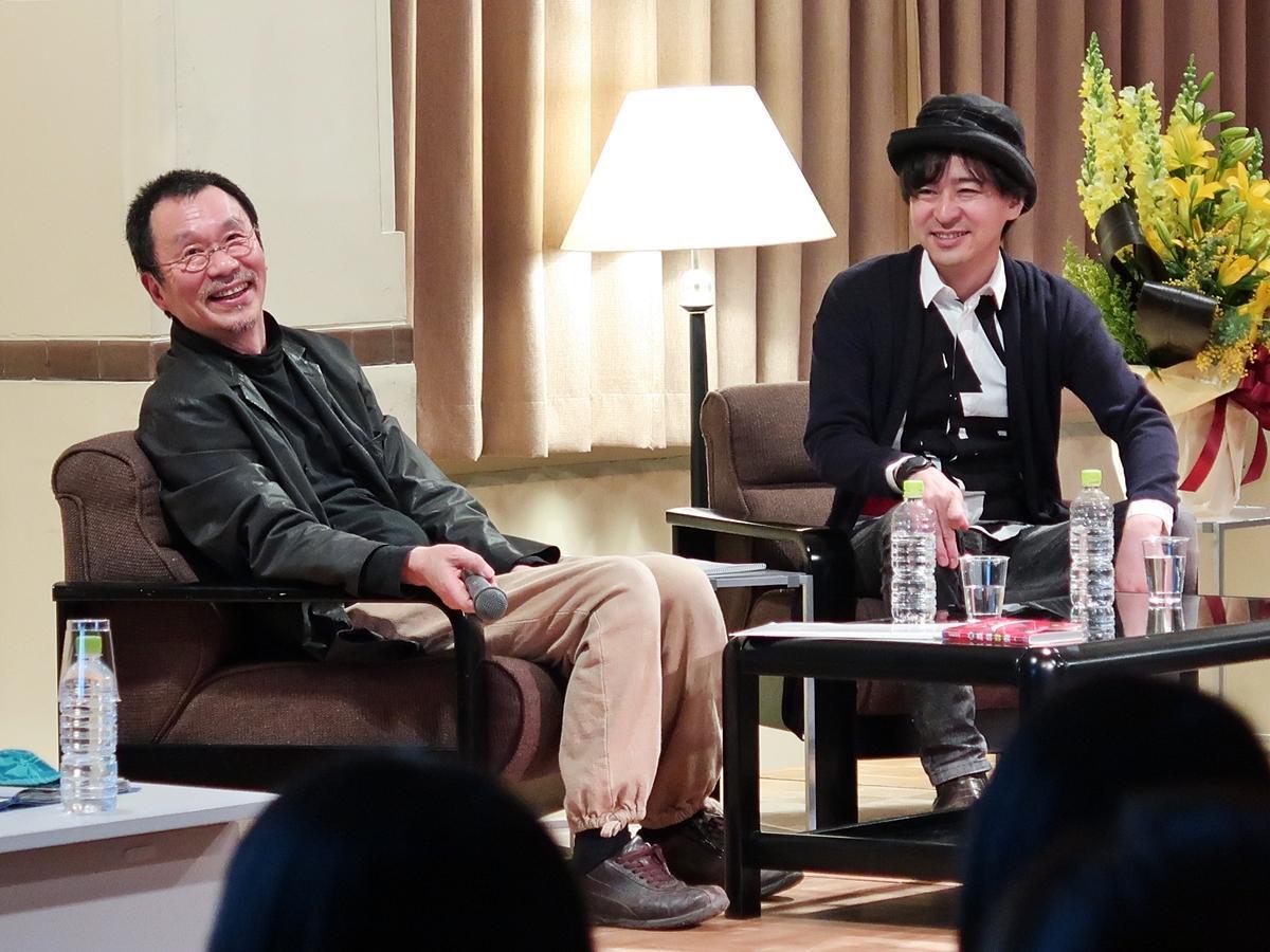 笑顔を見せる樂さんと松井さん