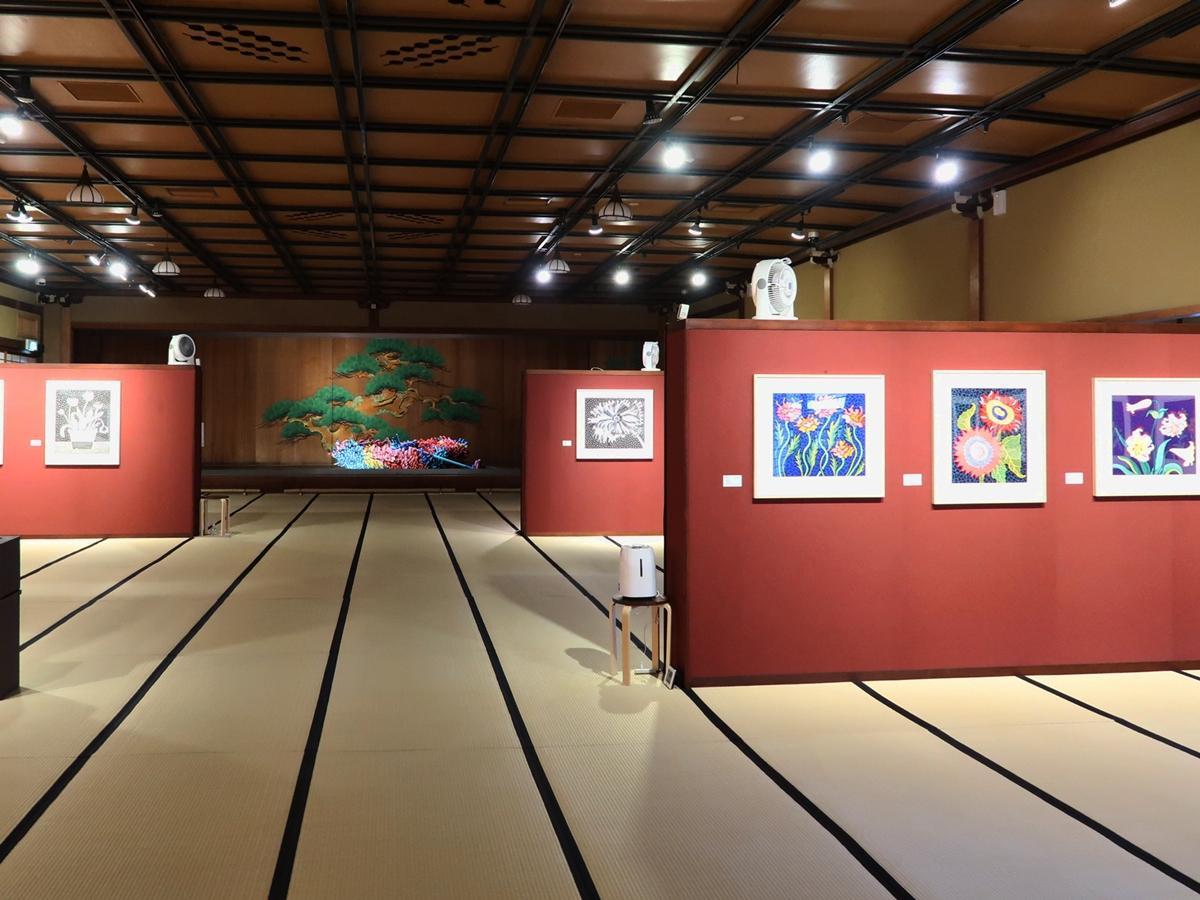 第4展示室「花の間」