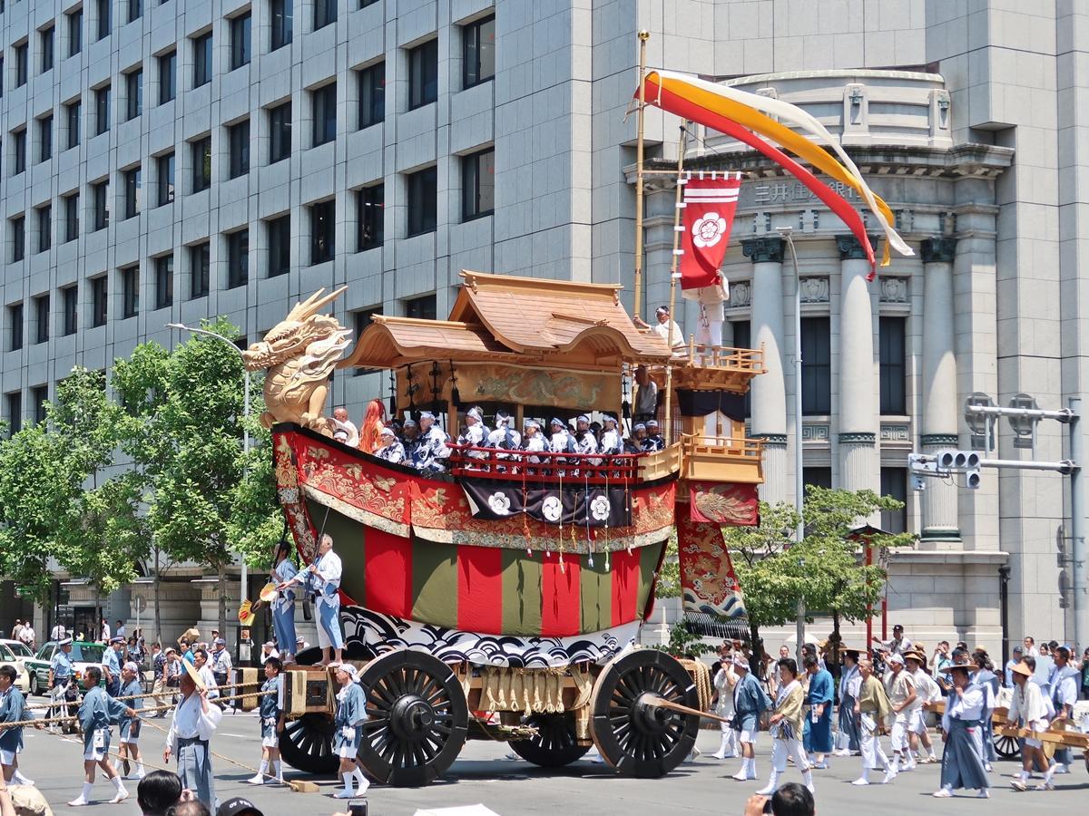 平成26年に復活した「大船鉾」