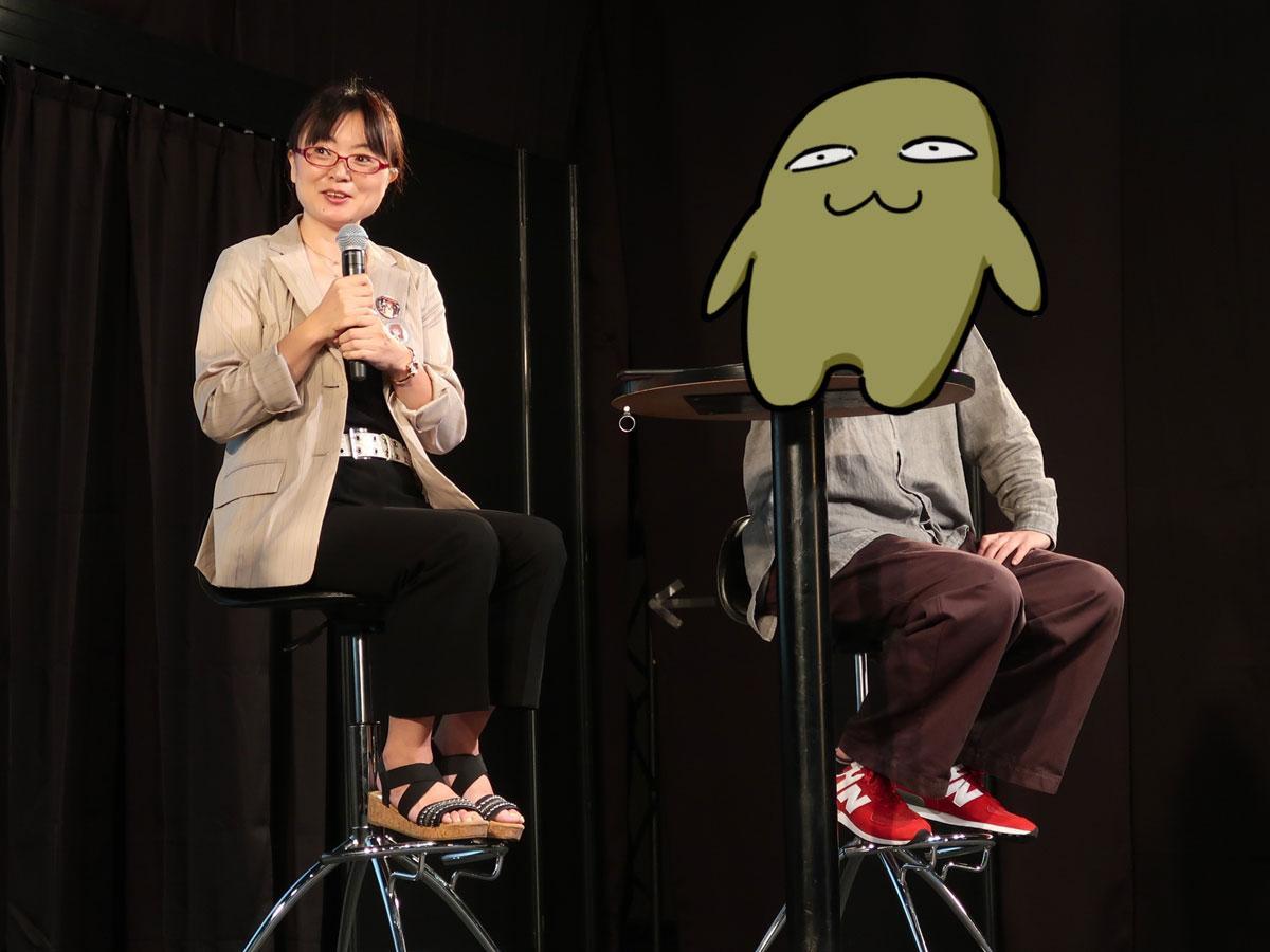 (左から)望月麻衣さんと賀茂川さん