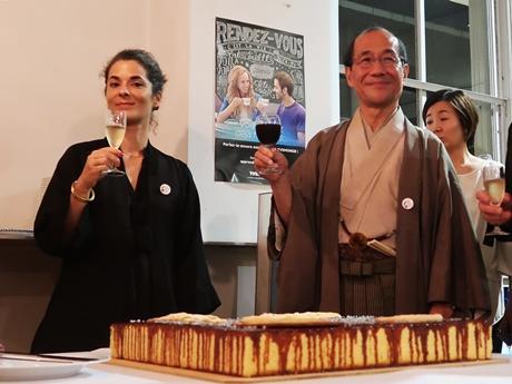 ポルスキパリ副市長と門川京都市長