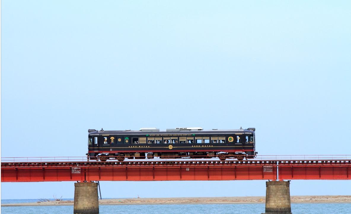京都丹後鉄道の貸し切り電車も走る(車両はイメージ)
