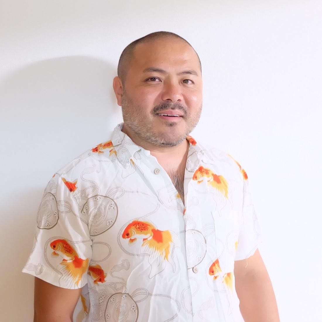 講師の一人、東京2020公式マスコットキャラクターをデザインした谷口亮さん