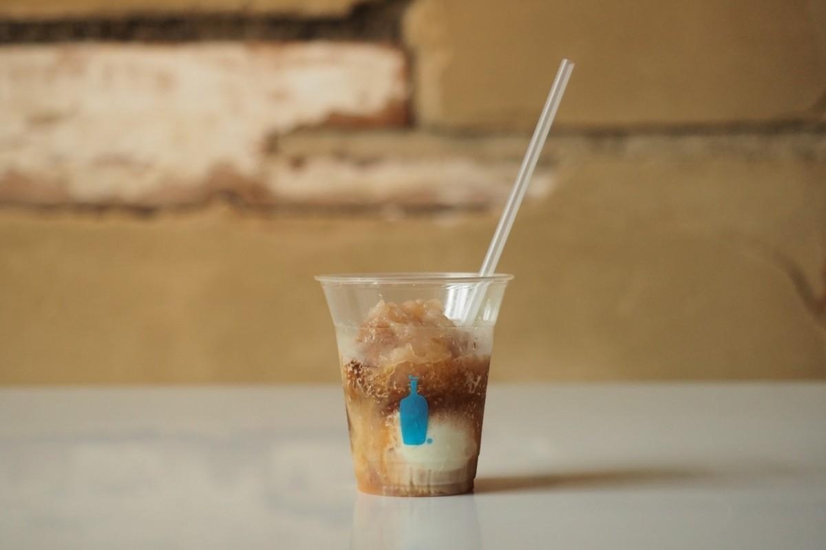 コーヒーかき氷