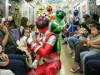 京都市営地下鉄で「キュウレンジャートレイン」 「地下鉄の日」イベントで