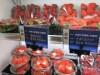 四条烏丸の果物店に今年最初の「京大イチゴ」入荷 棚いっぱいに甘い香り