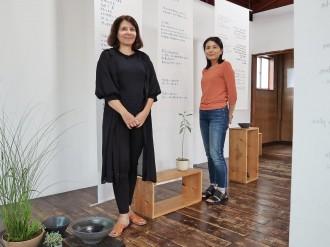 京都で陶器と詩の展示会「poems & pottery」 朗読会も