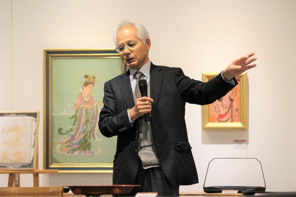 11月4日に講演を行った増村紀一郎さん