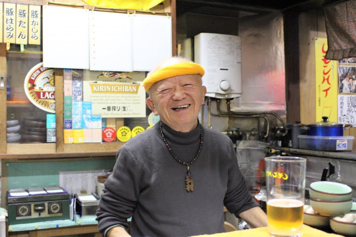 店主の長村幸夫さん