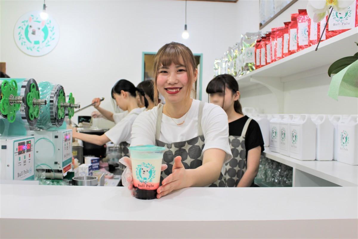 6月5日にオープンしたタピオカミルクティー専門店「Bull Pulu」