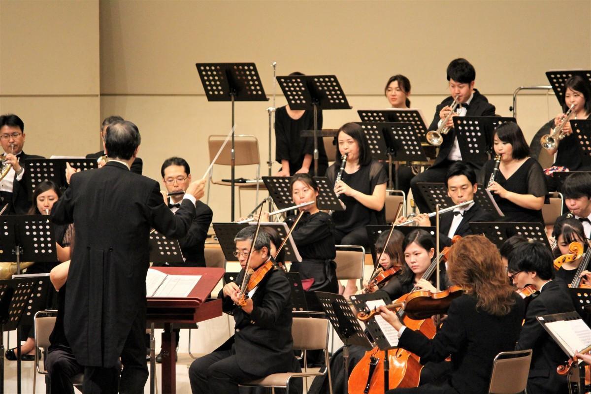 約50分の交響曲を演奏した「春日部フィルハーモニー管弦楽団」