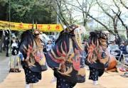 春日部の伝統芸能「赤沼の獅子舞」に初の女性舞い手