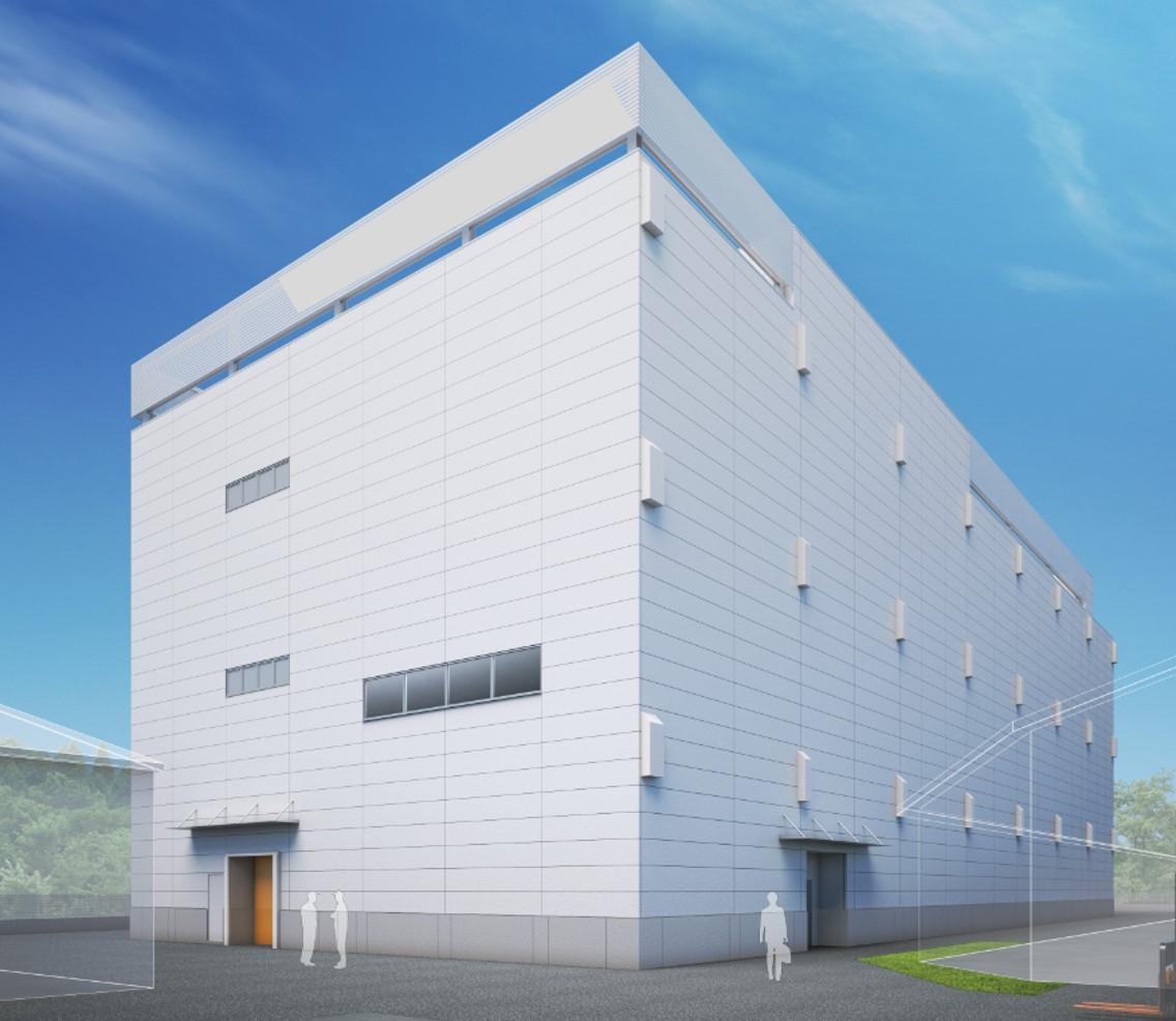 松伏町のエスビースパイス工業 埼玉工場新棟(イメージ)