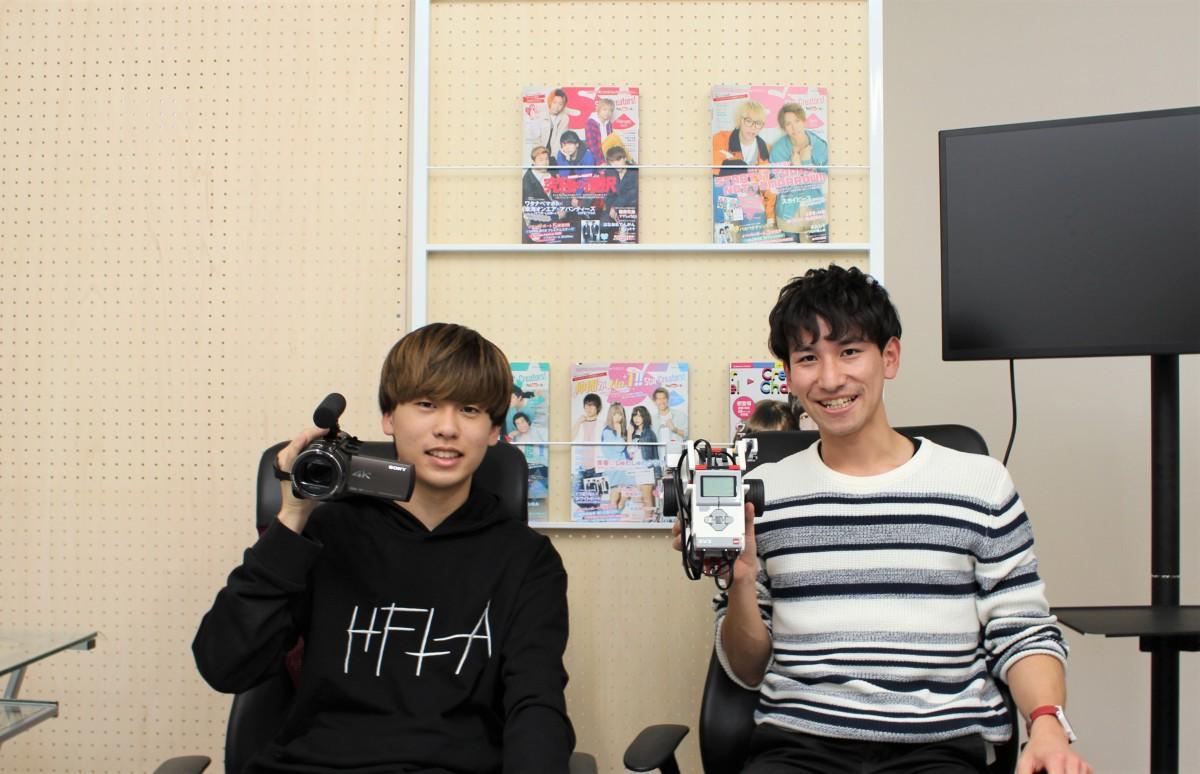 (左から)しょーまさん、鈴木将平さん