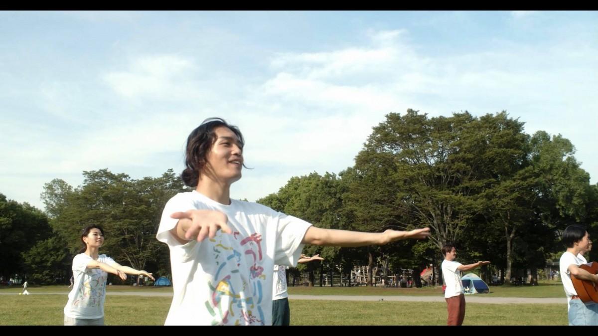 庄和総合公園でのダンス風景