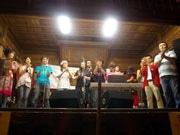 神社境内で初の「亀有3丁目音楽祭」-バンド9組が奉納ライブ