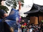 亀有香取神社で「節分祭」-地元の子どもを中心に3千人集まる
