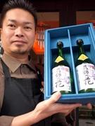 区内では買えない清酒「葛飾の花」、亀有の酒販店で初の一般販売開始