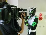葛飾の草ヒーロー「ゼロング」、地元CATVに出演-ショーの様子も紹介