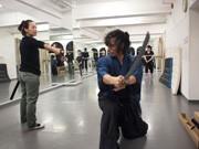 金町のフィットネススタジオ「殺陣コース」、人気に-時代劇の設定も