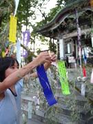 亀有の神社で地域イベント開催-神社の「七夕祭」とコラボ企画