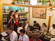 葛飾の居酒屋で日本酒体験会-奈良の酒蔵から品評会受賞作品も