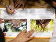 中青戸小学校で企業が環境出張授業-身近な環境をテーマに児童が作品制作