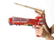 タカラトミー、次世代ゴム銃「Gショット」発売-昔ながらのゴム鉄砲が進化