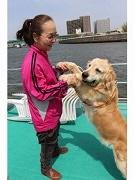 「中川護岸耐震補強工事」を船で見学 住民交流の一貫で