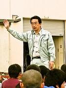 葛飾の鎌倉小学校で「今戸焼」の野焼き 想像力と歴史の教材に
