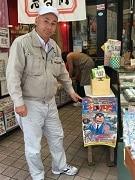 亀有一帯の商店街でイベント「海パン刑事をさがせ」 40カ所にパネル