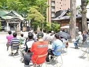 亀有香取神社で防災・熊本復興支援イベント「かつしか防災パーク」
