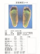葛飾のギフトショップで足型測定会 福岡・久留米の靴メーカーが来場