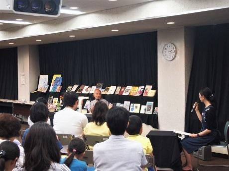 葛飾・お花茶屋図書館40周年記念で谷川俊太郎さん講演 区民と詩や言葉を楽しむ
