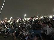 葛飾納涼花火大会に68万人 雷雨予報はねのけ開催、観光大使もナレーションで参加
