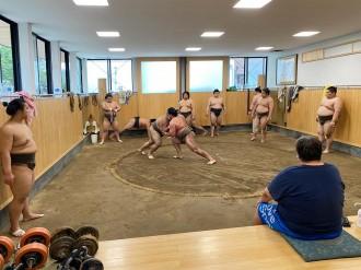 葛飾・柴又の旧東関部屋に二子山部屋が移転 相撲ファンに開かれた部屋目指す
