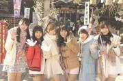 ご当地アイドル「川越CLEAR'S」 川越八幡宮でヒット祈願、ライブも