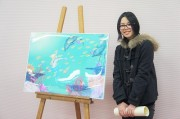 川越の尚美学園大学生が介護施設の壁面アート制作 レオパレスとコラボ