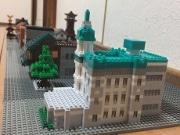 蔵づくりの街並みを再現したブロック作品 川越まつり控え「江戸型山車」ナノブロックPR