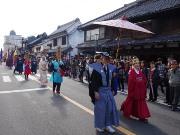 川越で「唐人揃い」 朝鮮通信使模したパレードに400人