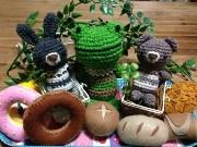 ワカバウォークで「ハンドメイドマーケット」 フェルト小物や編み物など37店