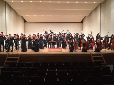 川越市やまぶき会館で大東文化大学管弦楽団演奏会 フレッシュな演奏届ける