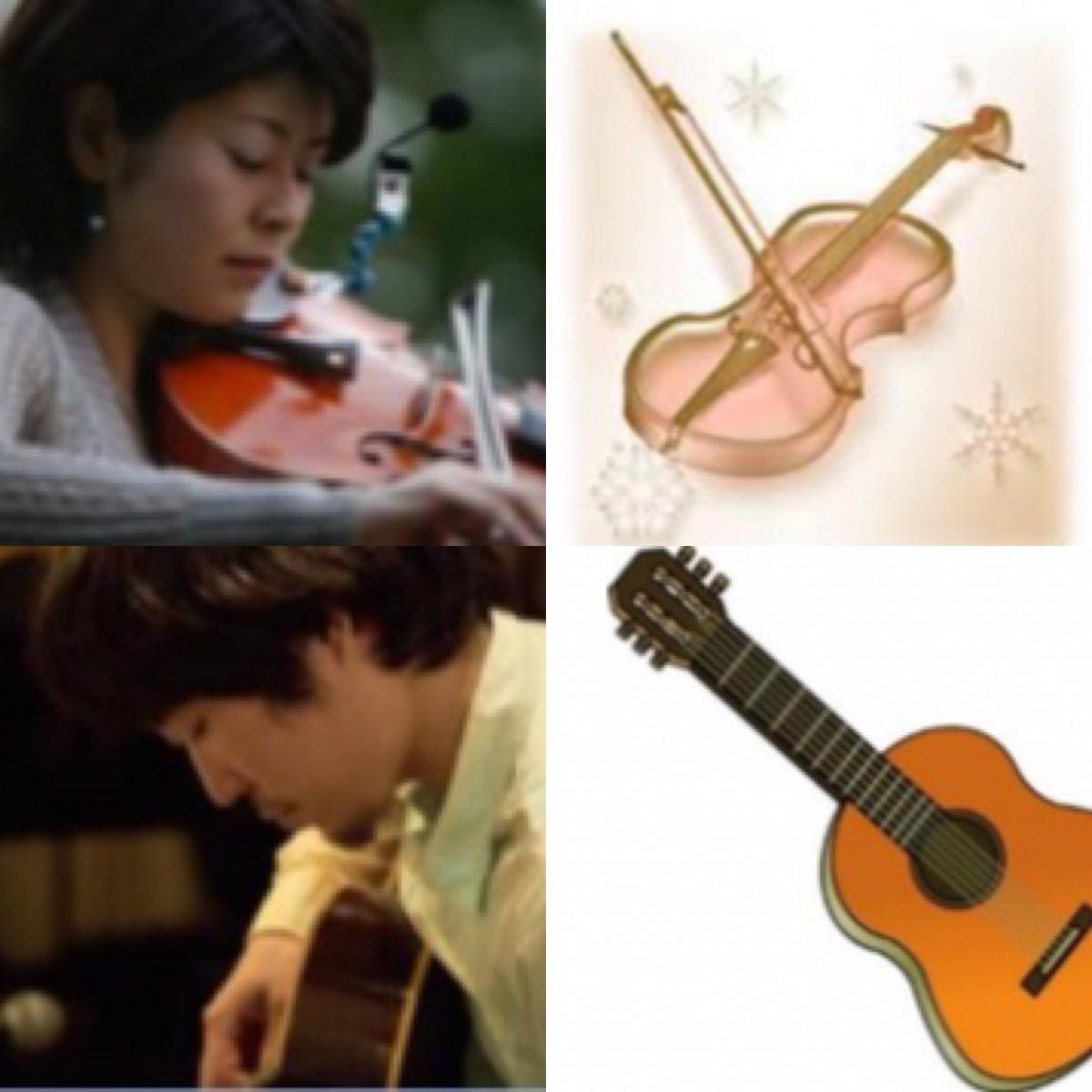 演奏者の飯田さんと野津さん