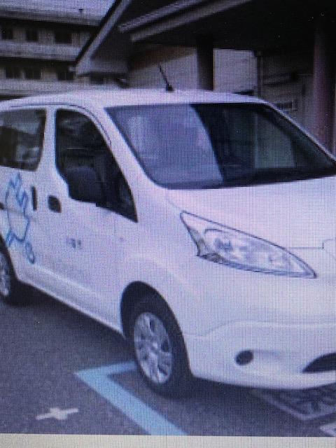 会場展示の電気自動車