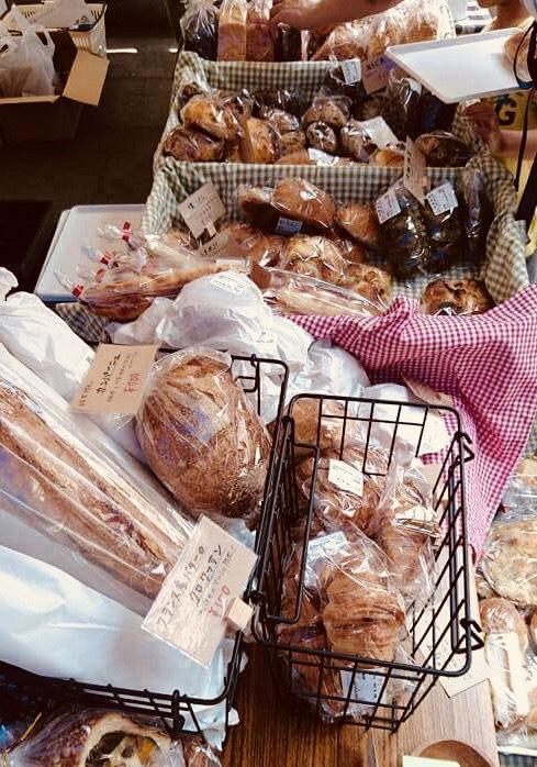 販売予定のパン