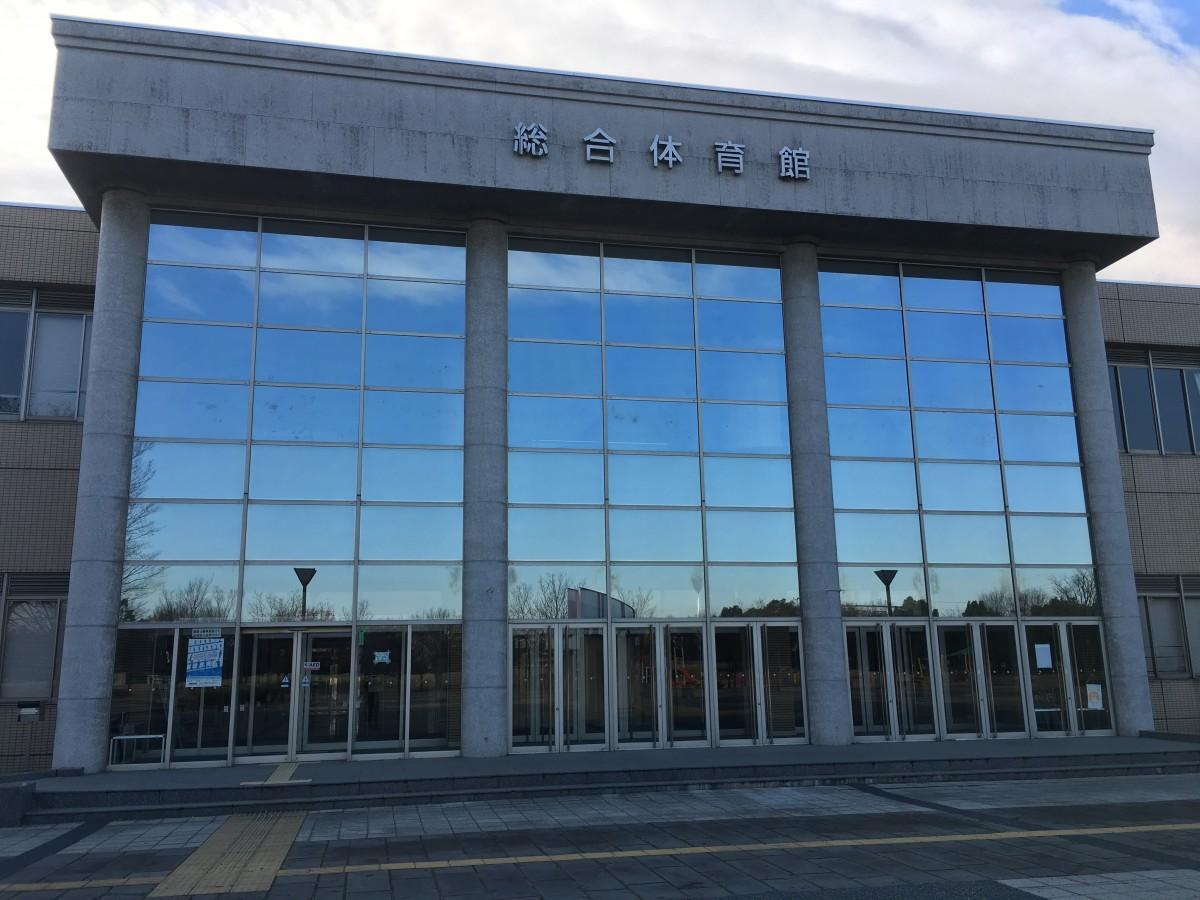 大相撲川越場所が開かれる川越運動公園総合体育館